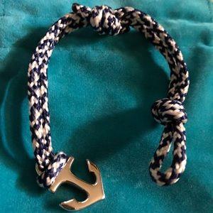 JAMES AVERY S.S. Blue ANCHOR Braided Bracelet